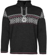 Dale of Norway HOLMENKOLLEN Jumper dark chracoal/off white/red roses