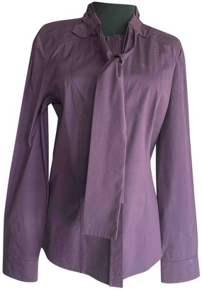 Gucci Purple Cotton Top for Women Vintage