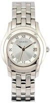 Gucci 5500L Stainless Steel with Silver Dial 27mm Womens Watch