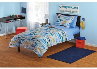 Your Zone Transportation Bed in a Bag Coordinating Bedding Set