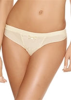 Freya Deco Darling Ivory Thong
