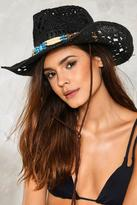 Nasty Gal nastygal Hold Your Horses Cowboy Hat
