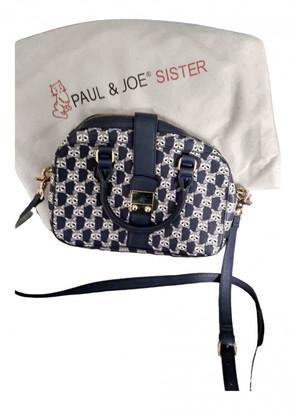 Paul & Joe Sister Blue Leather Handbags