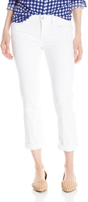 Level 99 Women's Lily Mid Rise Crop Rollup Jean