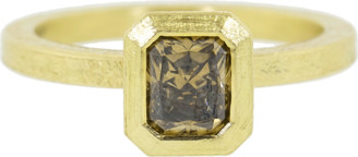 Todd Reed Fancy Diamond Solitaire Ring