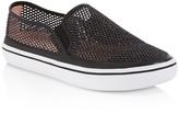 Kate Spade Sallie Glitter Mesh Slip-On Sneakers