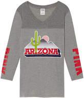 PINK University Of Arizona V-Neck Boyfriend Jersey Tee