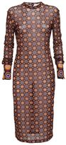 Givenchy Geometric Print Fitted Dress