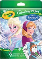 Crayola Frozen Mini Coloring Pages