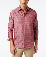 Tasso Elba Men's Classic Fit Print Shirt, Only at Macy's