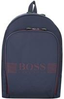 BOSS GREEN Pixel Backpack Bag Navy