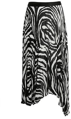 Bailey 44 Logan Zebra-Print Skirt