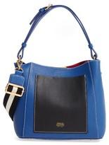 Frances Valentine Small June Leather Hobo - Blue