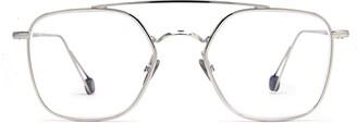 AHLEM Place Colette Optic White Gold Glasses
