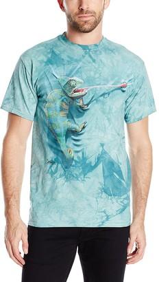 The Mountain Climbing Chamelion Adult T-Shirt