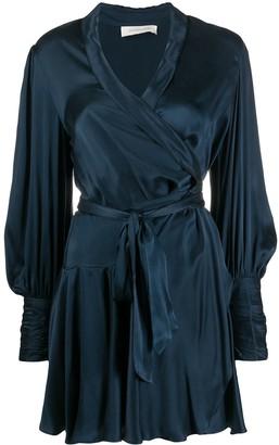 Zimmermann Belted Wrap Dress