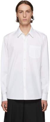 Dries Van Noten White Cotton Poplin Shirt