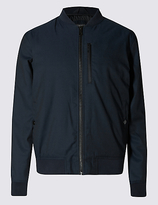 Limited Edition Tailored Fit Wadded Bomber Jacket