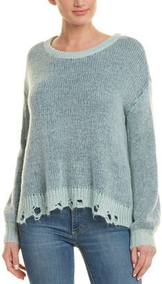 Splendid Two-Tone Wool-Blend Sweater