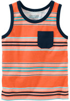 Osh Kosh Striped Pocket Tank