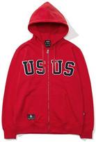[Unisex] 2017 Usus Zip-Up Hoodie (Red) Gz001f13re