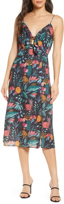 Finders Keepers Sally Floral Midi Sundress