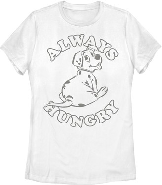 Disney Juniors' 101 Dalmatians Rolly Puppy Always Hungry Graphic Tee