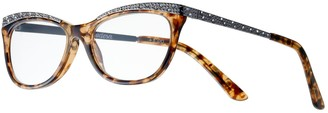 Foster Grant Women's Modera by Arista Crystal Accent Cat-Eye Reading Glasses