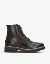 Carvela Snail leather ankle boots