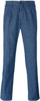 Lardini Xino trousers - men - Cotton/Linen/Flax - 48