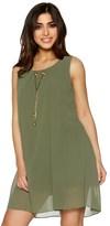 Quiz Sleeveless Necklace Tunic Dress