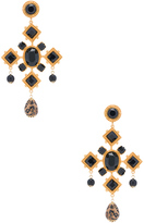 Dolce & Gabbana Black Cross Earring