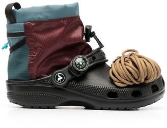 Crocs Panelled Applique Boots