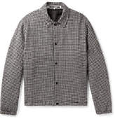 McQ Gingham Cotton And Wool-blend Jacket