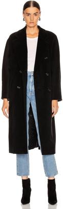 Max Mara Madame Coat in Black | FWRD