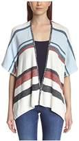 Cliche Women's Denim Stripe Cardigan