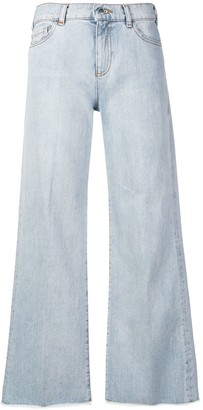 Emporio Armani flared leg jeans