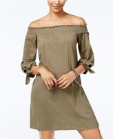 Jessica Simpson Juniors' Marlika Off-The-Shoulder Dress