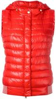 Herno hooded gilet - women - Feather Down/Polyamide - 42