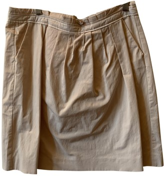 Schumacher Pink Cotton - elasthane Skirt for Women