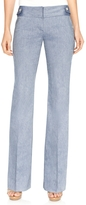 The Limited Lexie Button Waist Classic Flare Pants