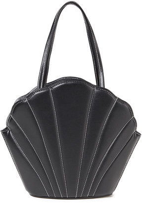 Les Petits Joueurs Kaia Shell Quilted Leather Bucket Bag