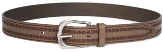 Isabel Marant Linna Embroidered Leather Belt