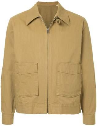 Kent & Curwen utilitarian shirt jacket