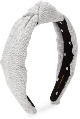 Lele Sadoughi Chevron Tweed Twist Headband
