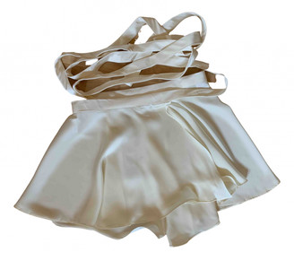 Orseund Iris Ecru Silk Skirts