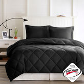 JCPenney Larkspur Microfiber Reversible Down Alternative Comforter Set