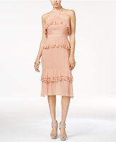 Endless Rose Ruffled Halter Dress