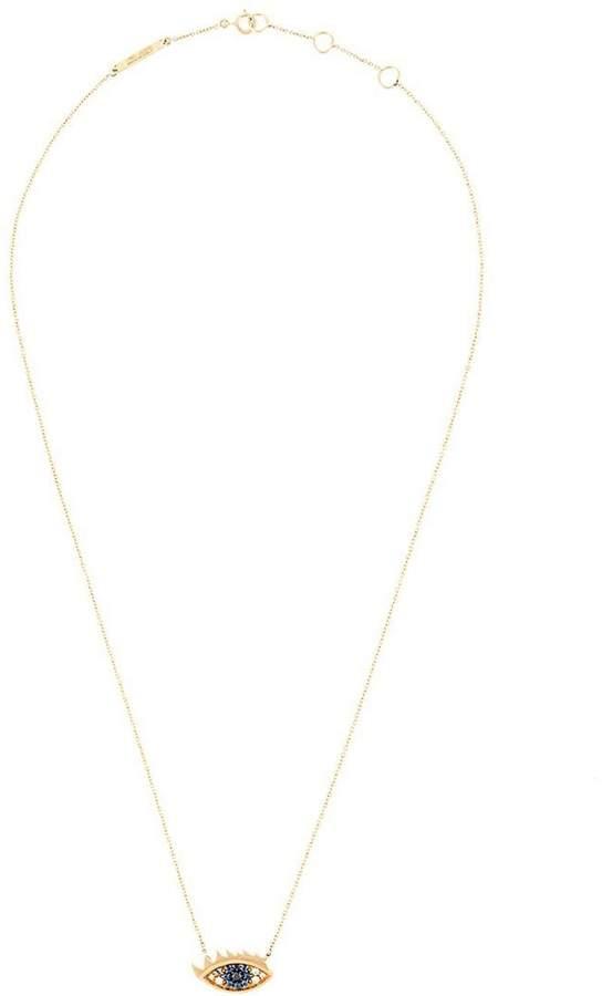 Delfina Delettrez 'Eyes on me' diamond and saphire necklace