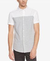 Kenneth Cole New York Men's Colorblocked Short-Sleeve Shirt
